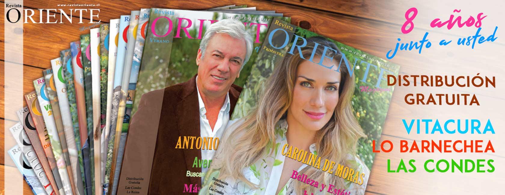 Revista Oriente Distribucion Gratuita Vitacura Las Condes Lo Barnechea